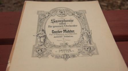 Gustav Mahler Symphony, Piano Reduction