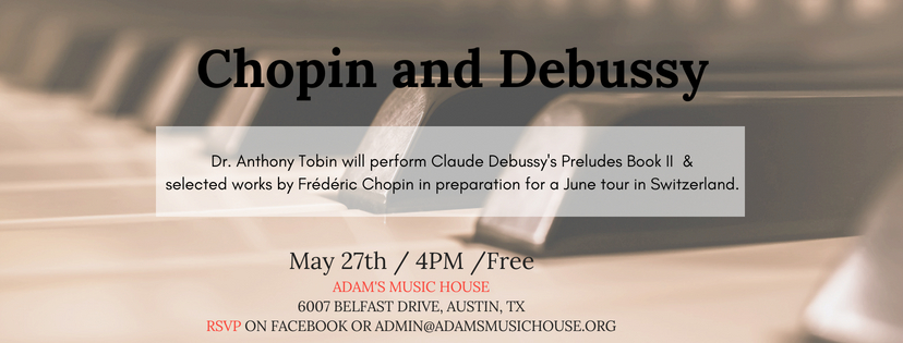 Chopin and Debussy Cover Flyer